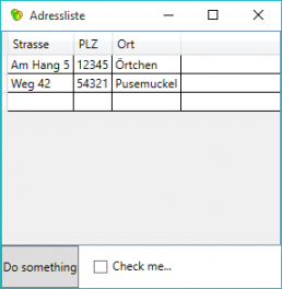 Automatisierte Tests GUI